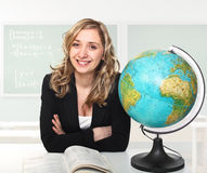 Woman teacher Royalty Free Stock Photography