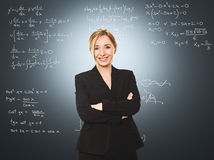 Woman teacher Royalty Free Stock Image