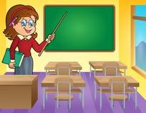 Woman teacher theme image 3 Stock Photo