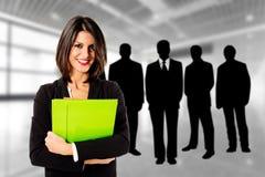 Woman teamleader Stock Photography
