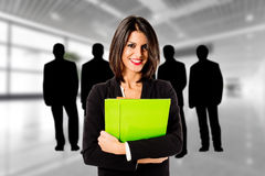 Woman teamleader Royalty Free Stock Photography