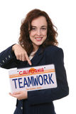 Woman Teamwork royalty free stock photo