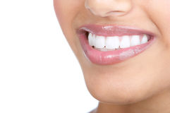 Woman teeth Stock Images