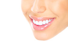 Woman teeth Stock Photography
