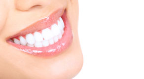 Woman teeth Royalty Free Stock Photos