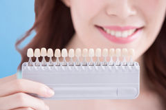 Woman teeth whitening concept Stock Photography