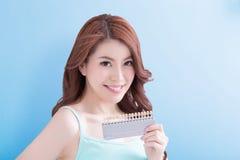 Woman teeth whitening concept Royalty Free Stock Photos