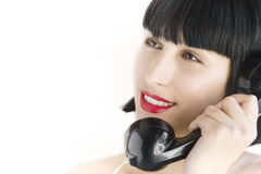 Woman on the telephone Stock Image