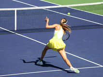 Woman tennis royalty free stock photos