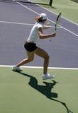 Woman tennis stock image