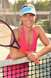 Woman Tennis Royalty Free Stock Images
