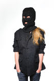Woman terrorist Royalty Free Stock Photos