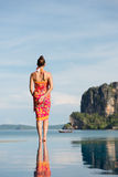 Woman on thailand travel Royalty Free Stock Photo