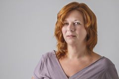 Woman in ther forties Stock Images