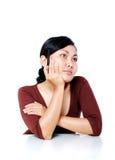 Woman thinking Stock Photos