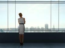 Woman thinking Royalty Free Stock Image