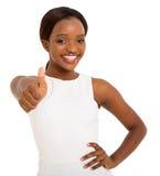 Woman thumb up Royalty Free Stock Photos