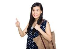 Woman thumb up Royalty Free Stock Photo