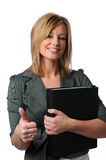 Woman With Thumbs Up Royalty Free Stock Image