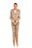 Woman tied up Stock Images