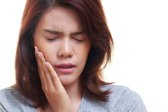 woman toothache Royalty Free Stock Images