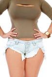 Woman torso Stock Photos