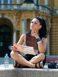 Woman tourist Stock Photos