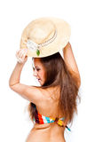 Woman tourist Stock Image