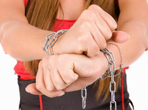 Woman trafficking Royalty Free Stock Photography