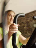 Woman training indoor Stock Photography