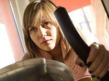Woman training Royalty Free Stock Photo