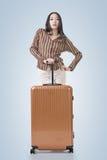 Woman travel Royalty Free Stock Photos