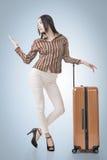 Woman travel Royalty Free Stock Image