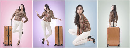 Woman travel Stock Photo