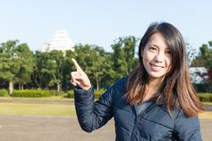 Woman travel to himeji castle Stock Photo