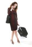 Woman Traveler Royalty Free Stock Images