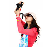 Woman Traveler Royalty Free Stock Photography