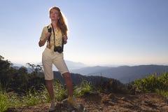 Woman traveler Stock Photos