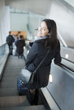 Woman traveling stock photography