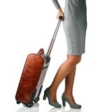 Woman travelling on business Royalty Free Stock Photography