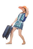 Woman travelling Stock Photography