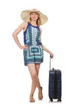 Woman travelling on summer Stock Photos