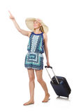 Woman travelling Royalty Free Stock Photo