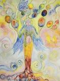 Woman tree of life.