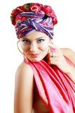 Woman in turban Royalty Free Stock Photo