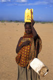 Woman Turkana (Kenya) Royalty Free Stock Photo