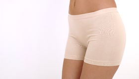 Woman underwear. Isolated at white background Royalty Free Stock Photography
