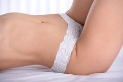 Woman In Underwear Stock Photography