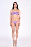 Woman in underwear full lengh in studio Stock Image