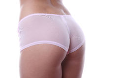 Woman in underwear Stock Image
